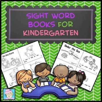 Guided Reading: Sight Word Books for Kindergarten
