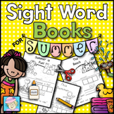 Sight Word Books for Summer | Kindergarten Sight Word Books