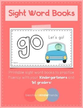 Sight Word Books (go) *FREEBIE*