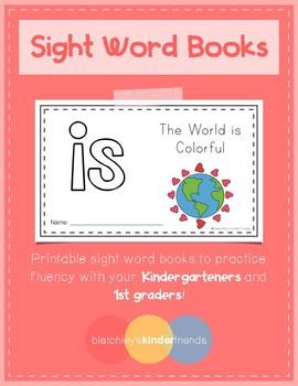 Sight Word Books (is) *FREEBIE*