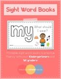 Sight Word Book - MY