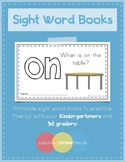 Sight Word Books (on)