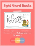 Sight Word Book - THE