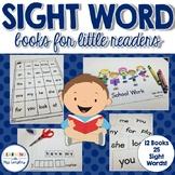 Sight Word Books with Cut & Glue Sentences
