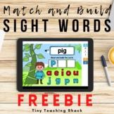 Sight Word Boom Card FREEBIE