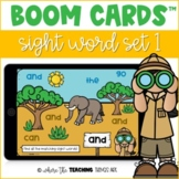 Sight Word Boom Cards - Set 1 | Distance Learning Resource