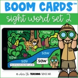 Sight Word Boom Cards - Set 2 | Distance Learning Resource