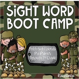 Sight Word Boot Camp (Dolch Pre-Primer-Grade 3)