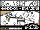 Sight Word Bowling (Editable)