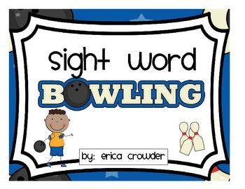 Sight Word Bowling FREEBIE