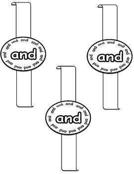 Sight Word Bracelets