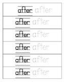 Sight Word Bracelets- 1st Grade Dolche Words-39