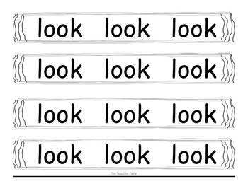Sight Word Bracelets You can Wear!