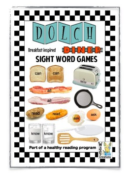 Sight Word Breakfast Diner: Part of a healthy reading program.