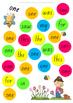 Sight Word Bubble Pop Coloured Activity