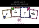 Sight Word Bug Splat Attack Game