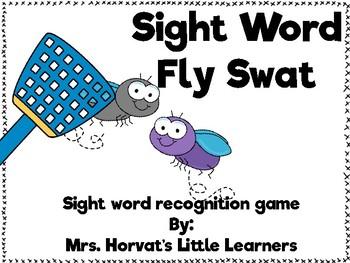 Sight Word Bug Swat