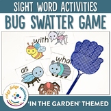 Sight Word Bug Swatter Game