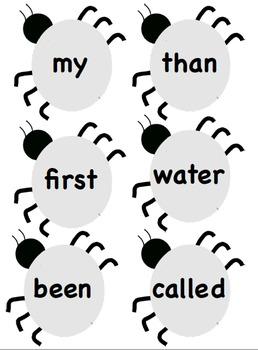Sight Word Bugs 40-60