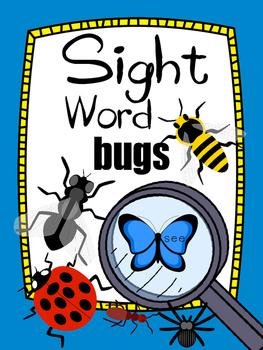 Sight Word Bugs Literacy Center