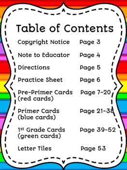 Sight Word Build It, Write It, Use It, Illustrate It!