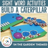Sight Word Build a Caterpillar
