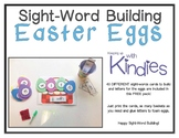 Sight Word Building Easter Eggs