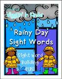 Sight Word Building FUN! - Rainy Day Sight Words