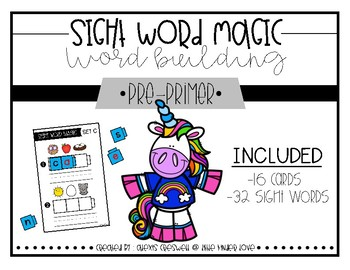 Sight Word Building Magic