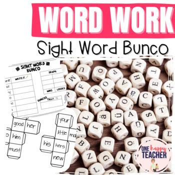 Sight Word Bunco