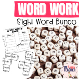Sight Word Bunco