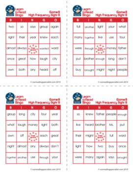 Bargain Sight Word Bundle + Bingo (LTR)
