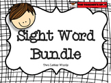 Sight Word Bundle - Beginner Sight Words