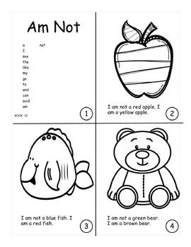 Sight Word Bundle: Books 1-15: