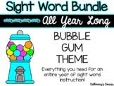 Sight Word Bundle-Bubble Gum Theme