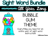 Sight Word Bundle-Bubble Gum Theme