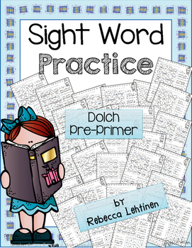 Sight Word Bundle {Dolch Pre-Primer} NO PREP