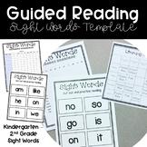 Sight Word Bundle - Editable