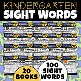 Sight Word Bundle:  Entire Year of Kindergarten (NO PREP)