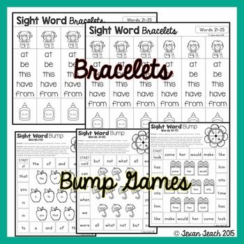 Sight Word Bundle: First Hundred Words