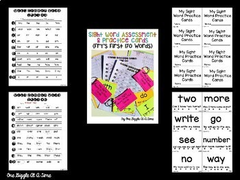 Sight Word Bundle (Fry's First 170 Words)