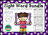 Sight Word Bundle - Tyner 1st 100 Words