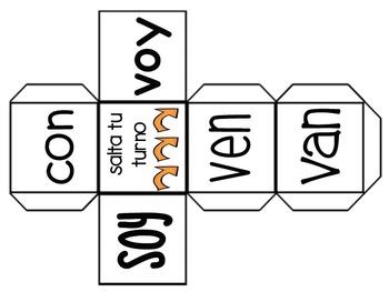 Sight Word Bundle in Spanish