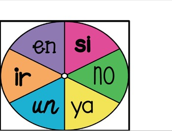 Sight Word Bundle in Spanish