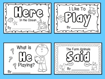 Sight Word Bundle of Books