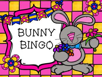 Sight Word Bunny Bingo Game