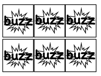 Sight Word Buzz