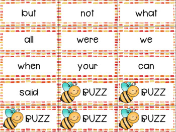 Sight Word Buzz BUNDLE