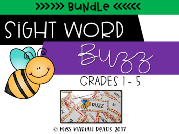 Sight Word Buzz BUNDLE