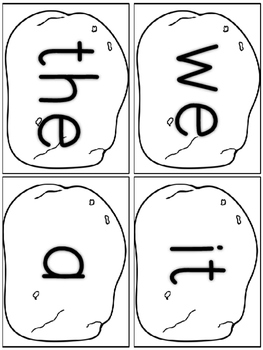 Sight Word Cafe: Kindergarten-1st 6 Weeks {Color and B&W}